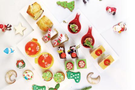 天河廊节日灵感圣诞主题双人下午茶