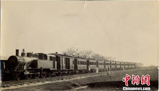 潮汕铁路老照片。(资料图) 许立耿提供 摄
