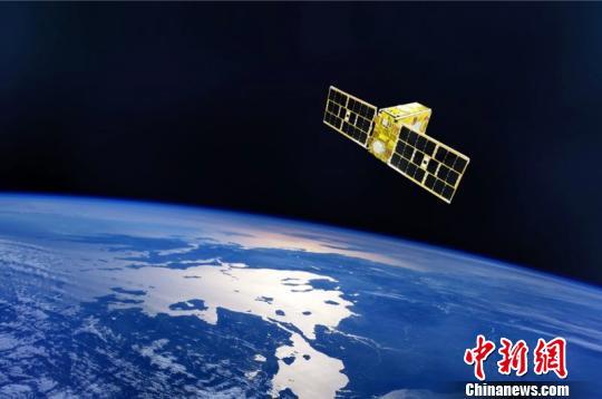 """通导遥一体化技术试验卫星""""亦庄全图通一号""""。全图通公司供图"""