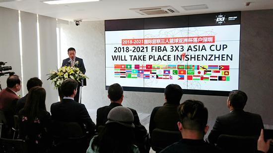 深圳盛世体育发展有限公司负责人介绍赛事筹备情况