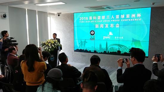 亚洲杯在发布会中正式宣布与普华永道成为合作伙伴