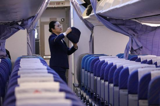 机上情况。