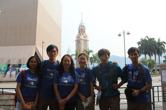 △回国后,他们环保科考队到处开讲座、参加比赛,分享成果。