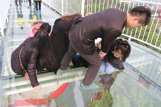 东莞3D玻璃桥正式试营业