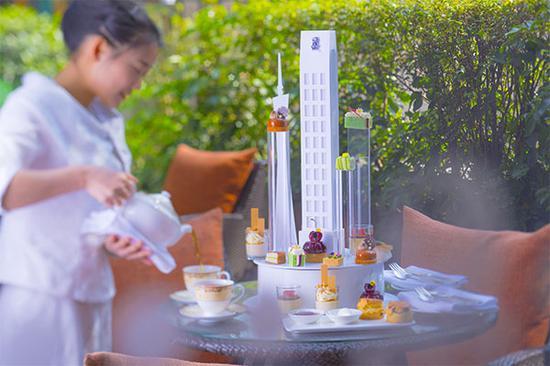 珍珠酒廊周年下午茶