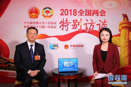 全国人大代表、湛江市市长姜建军接受新华网专访 新华网发