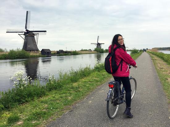 △晓晴在荷兰