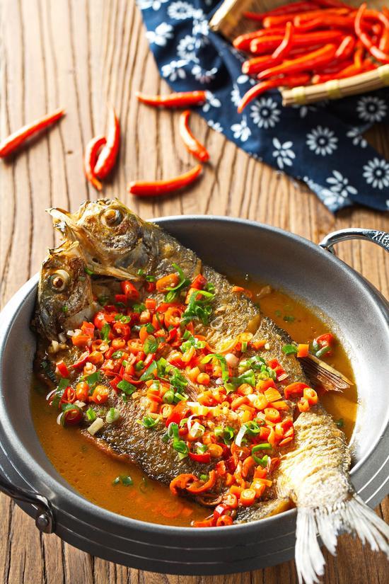 干锅翘嘴鱼
