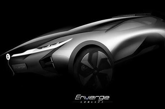 2018北美车展:传祺Enverge概念车