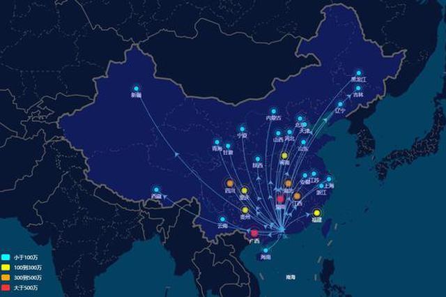 除夕夜莞深总人数减半 广东人过年爱去台湾