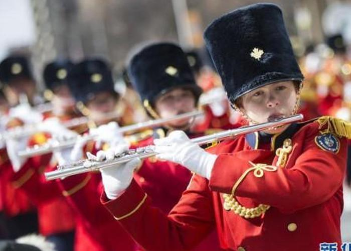 多伦多举行圣帕特里克节游行