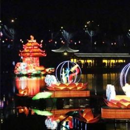 文化公园免费元宵灯会将于正月十五至十七亮灯