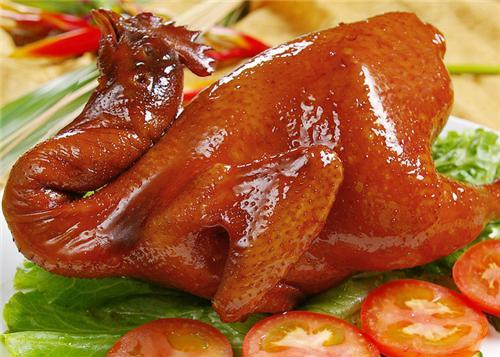 广东粤式家常菜豉油鸡