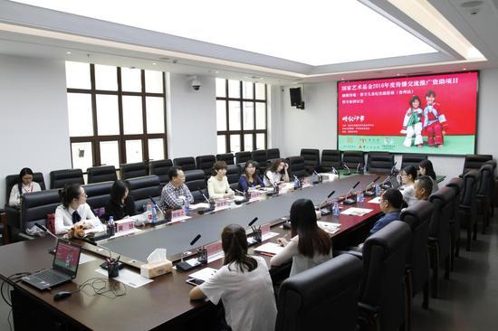 中国扶贫基金会健康发展部主任问会芳发言