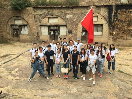 校媒记者参观安泽县杜村乡红色旅游线路