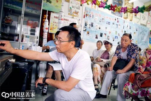 王伟力 心目影院电影讲述人、北京市红丹丹视障文化服务中心创办人