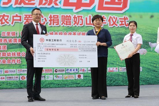 星瑞集团向中国社会福利基金会捐赠100万元