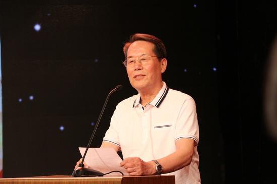 原北京市老年志愿者协会会长马仲良致辞