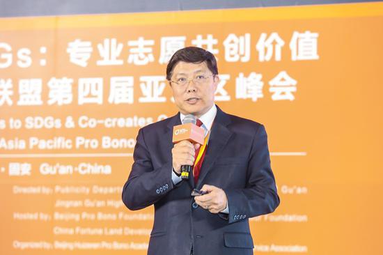 友成企业家扶贫基金会副理事长汤敏