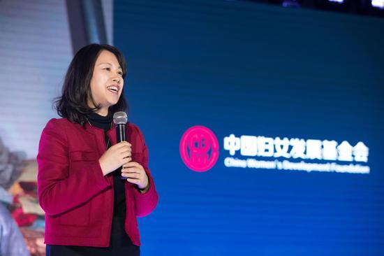 中国妇女发展基金会秘书长张建岷女士