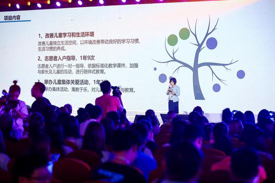"""中国妇基会""""家庭成长计划""""项目捐赠仪式在天津举行"""