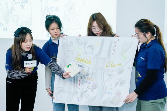 大师长教员讲授并揭示各自团队的绿舆图