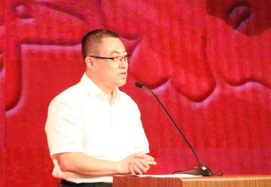 北京市民政局社会福利管理处副处长李树丛致辞
