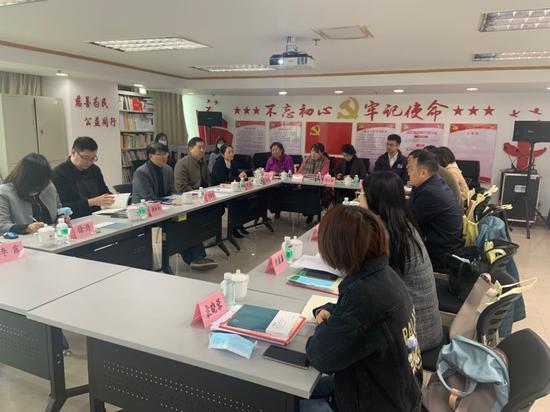参访团到场广州市民政局漫谈会