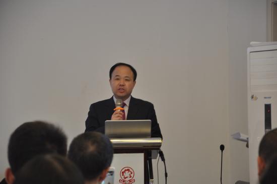 中国青基会副秘书长杨春雷发言