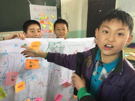 儿童交通安全讲堂孩子们积极参与互动