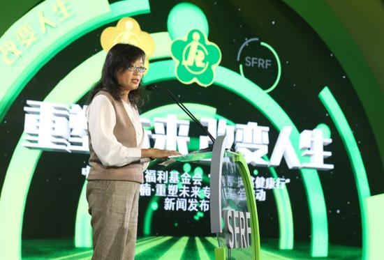 诺亚财富创始投资人、执行董事章嘉玉致辞