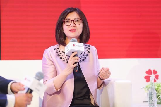 爱佑慈善基金会秘书长耿源表示与爱佑慈善基金会与一汽-大众奥迪的合作实现了1+1大于2的效果