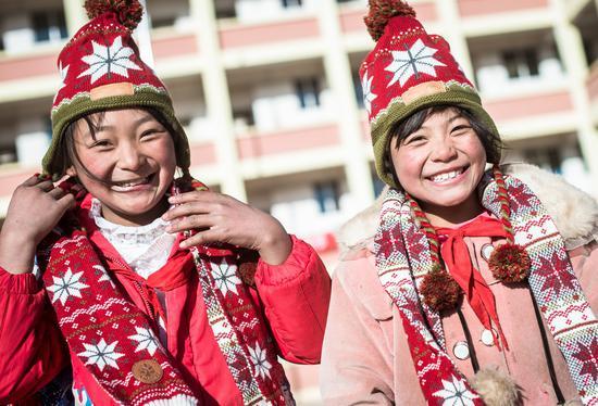 公益众筹项目暖冬行动为昭通捷豹路虎希望小学的孩子们筹集过冬衣物及学校硬件设施