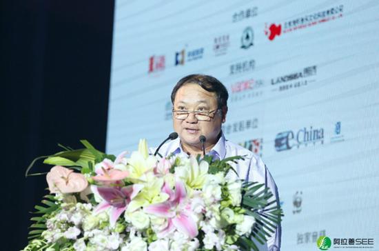 阿拉善SEE生态协会会长、融创中国董事 钱晓华