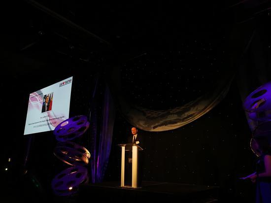 中华人民共和国驻洛杉矶总领事馆副总领事孙鲁山在开幕式中致辞