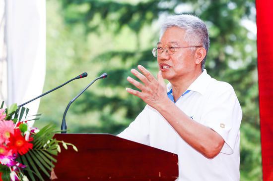 中国文联原副主席、《那岁月刻骨铭心》总策划王兆海致辞