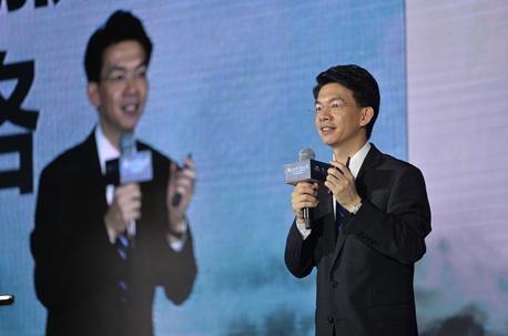 帮瀛法务机构创始人兼CEO 廖鸿程发表演讲