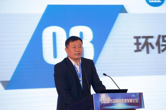 江苏宜兴环科园管委会主任助理齐飞分享环科园打造环保产业升级新样板的经验