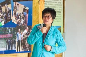吕植老师向志愿者们分享公民科学