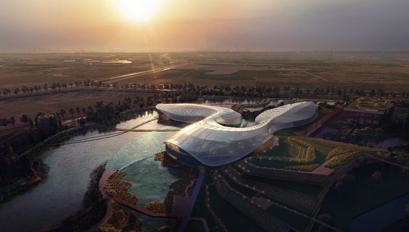 长江口中华鲟自然保护区(二期)设计效果图?ennead architects