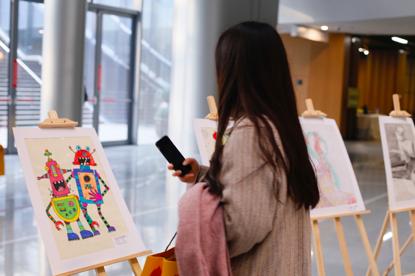 扬帆计划首届乡村儿童公益画展