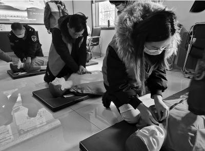 2020年12月24日,山东省淄博市遏制新时期文明理论安康科普自愿办事站启动典礼暨首场抢救技术培训勾当