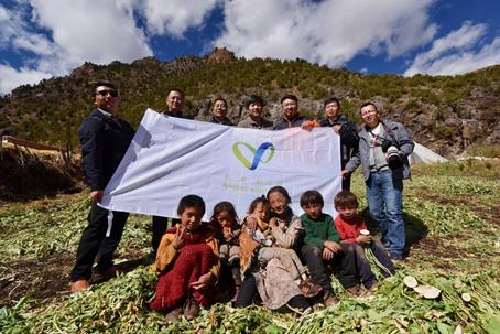 三江源地区吉赛社区保护地建设项目考察