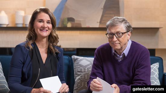 比尔和梅琳达•盖茨夫妇发布2018年度公开信