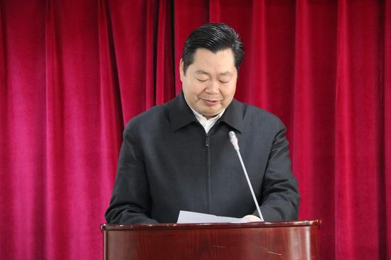 国务院扶贫办副主任洪天云发言