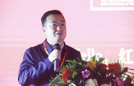 兰州皋兰县委副书记、县长杜宁让发表致辞