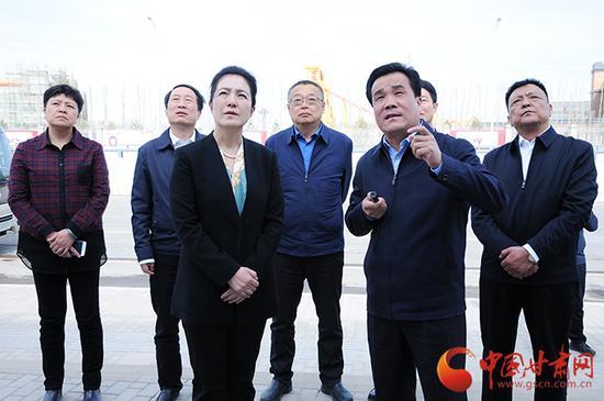 陈青调研嘉峪关关城大景区项目建设情况