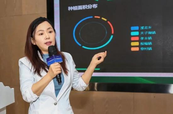 甲骨文超级码数字三农事业部总经理张丽新
