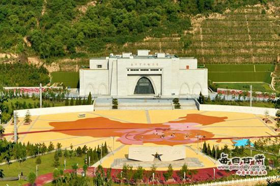 南梁红色大景区是2018甘肃网友植树公益行的植树分点。