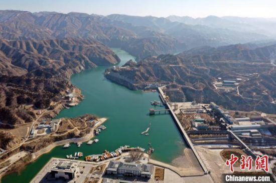 图为2月中旬拍摄的刘家峡水库。(资料图) 侯齐 摄